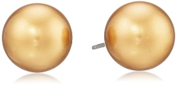 "Carolee "" - Pearl Stud Earrings"