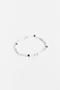 Urban Outfitters - Profound Aesthetic White Marbled Bracelet