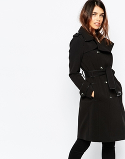 Warehouse - Double Breasted Trench Coat