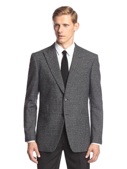 John Varvatos  - Jake 2 Button Peak Lapel Sport Coat