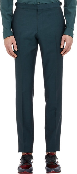Burberry Xo Barneys New York - Tuxedo-Stripe Trousers