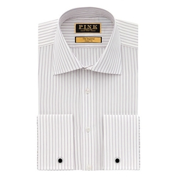 Thomas Pink - Freud Stripe Classic Fit Double Cuff Shirt