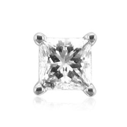 Diamond Delight - Princess Cut Stud Earrings