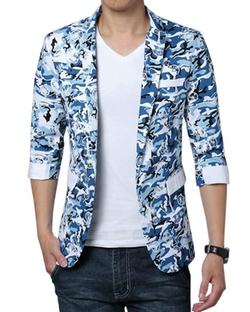 Latud Men Clothes - Classic Fit Summer Blazer Jacket Sport Coat