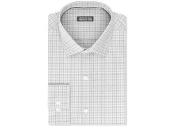 Kenneth Cole - Reaction Grey Check Dress Shirt