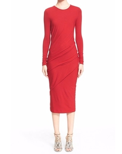 Donna Karan New York - Jersey Drape Dress