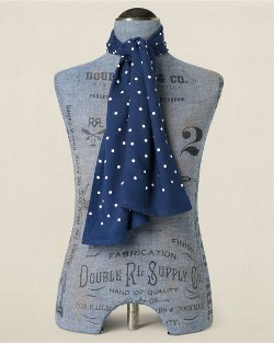 Ralph Lauren - Polka Dot Mayfair Scarf