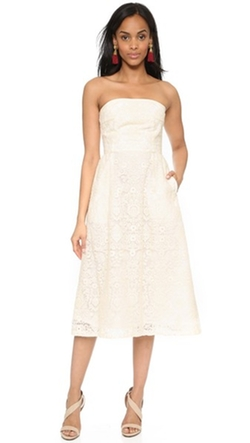 Sea - Strapless Dress