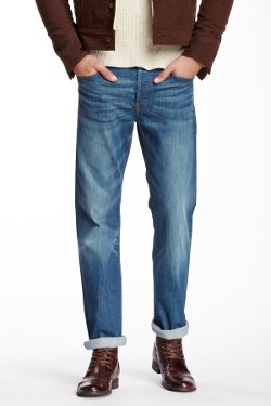 7 For All Mankind  - Slimmy Slim Straight Leg Jeans