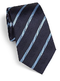 Armani Collezioni - Diagonal Shadow Stripe Tie