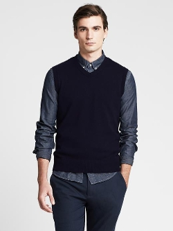 Banana Republic - Merino Wool Sweater Vest