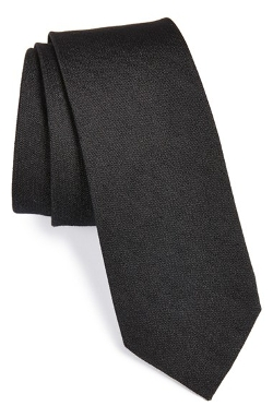 1901 - Silk & Cotton Solid Tie