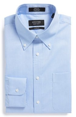 Nordstrom  - Classic Fit Non-Iron Solid Dress Shirt