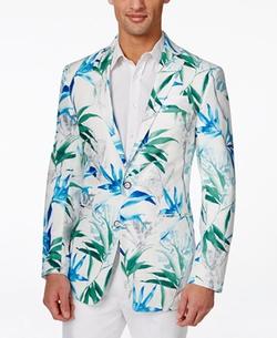 Tallia - Viggio Floral-Print Sports Coat