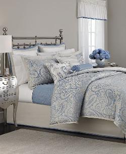 Martha Stewart Collection  - Gemstone Paisley 22 Piece Comforter Set