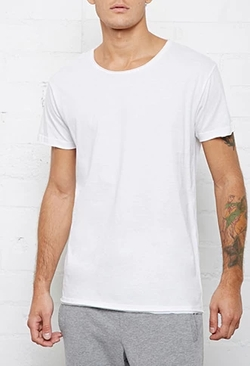Bread and Boxers  - Relaxed Crew Neck Tee Shirt