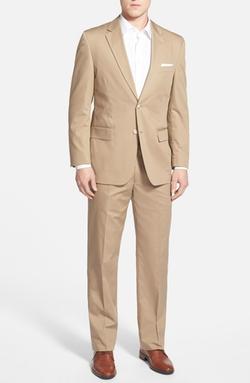 Coconut Grove - Classic Fit Cotton Blend Suit