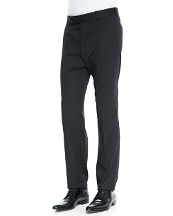 Alexander McQueen  - Wool/Mohair Basic Trousers