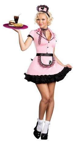 Dreamgirl  - Womens Sherri Cola Drive In Waitress