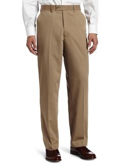 Louis Raphael - Gabardine Flat-Front Straight-Fit Pant