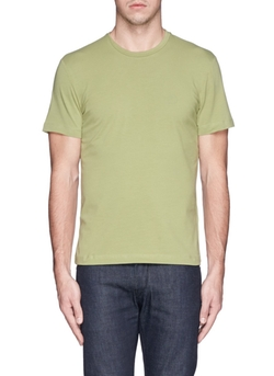 Armani Collezioni - Chest Logo Cotton T-Shirt