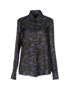 N_8 - Two-Tone Pattern Shirt