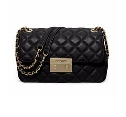 Michael Michael Kors - Sloan Large Quilted Leather Shoulder Bag