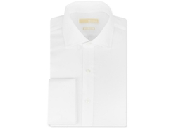 Michael Michael Kors  - Non-Iron White Solid French Cuff Shirt