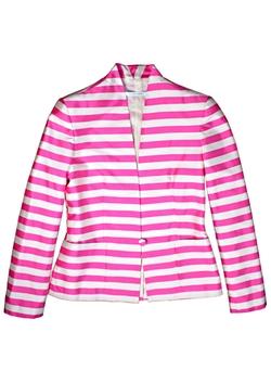 Plakinger - Stripe Silk Blazer
