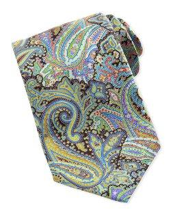 Ermenegildo Zegna  - Quindici Paisley-Print Silk Tie