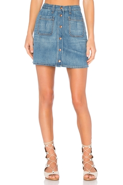 Rag & Bone/Jean - Santa Cruz Mini Skirt