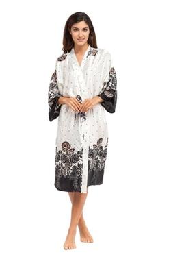 Joy Bridalc - Print Pattern Kimono Robe