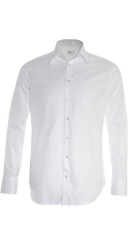Armani Collezioni - Solid Dress Shirt