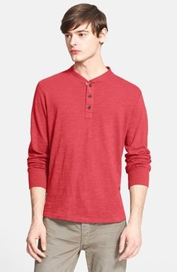 Rag & Bone - Standard Issue Slub Cotton Henley Shirt