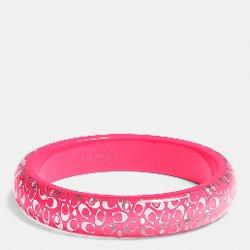 C.O.A.C.H.  - Slim Resin Bangle Bracelet