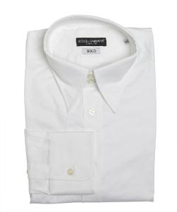 Dolce & Gabbana - Stretch Cotton Point Collar Dress Shirt