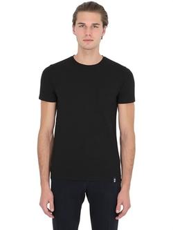 Drumohr  - Cotton Crepe T-Shirt