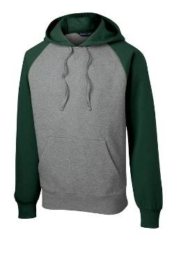 Sport-Tek - Raglan Pullover Hooded Sweatshirt