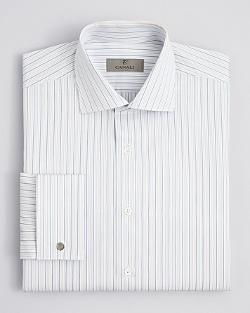 Canali - Alternating Stripe Dress Shirt