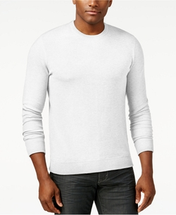 Michael Kors  - Pique Stitch Cotton Crewneck Sweater