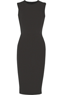 Victoria Beckham - Cutout Silk And Wool-Blend Crepe Dress
