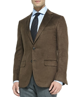 Ermenegildo Zegna - Heathered Silk Jacket