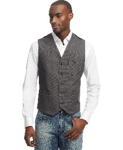 Kenneth Cole  - Reaction Chest Patch Pocket Vest