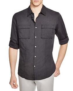 John Varvatos Star USA - Utility Regular Fit Button Down Shirt