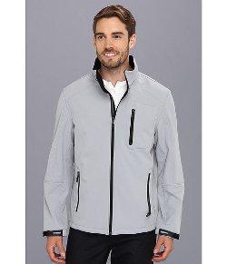 Calvin Klein  - Soft Shell Zip Front Jacket