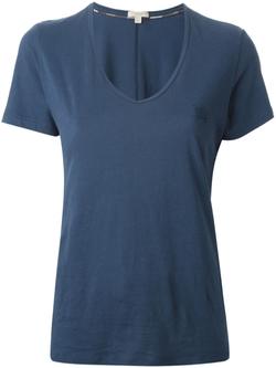 Burberry Brit  - V-Neck T-Shirt