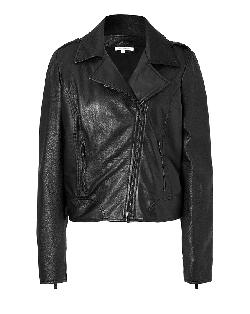 FAITH CONNEXION - Black Leather Jacket