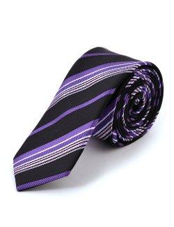Idarbi  - Satin Stripes Woven Necktie