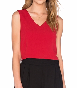 Bishop + Young - Rosie Deep V Neck Top