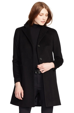 Ralph Lauren - Wool Blend Reefer Coat